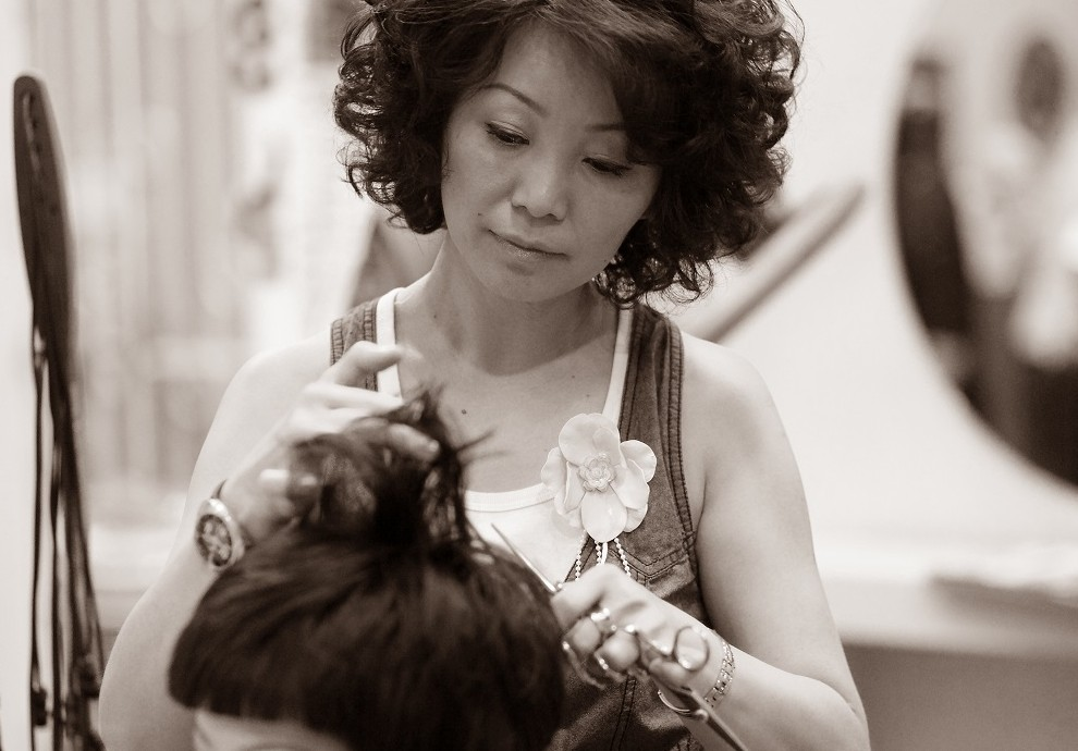 cutting styling act point salon
